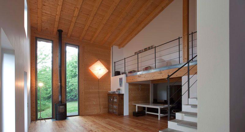 Casa stoppada esempio virtuoso di casa prefabbricata in - Casa in legno economica ...