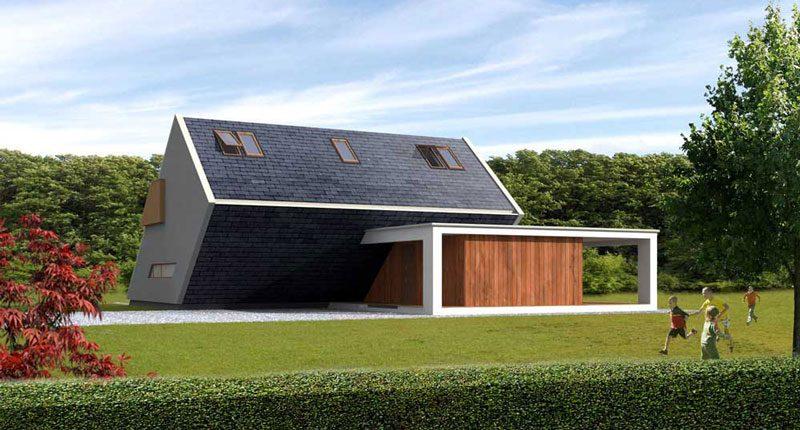 Quando la casa in legno ti sorprende il design che non ti aspetti albertani abitare - Costo costruzione casa ...