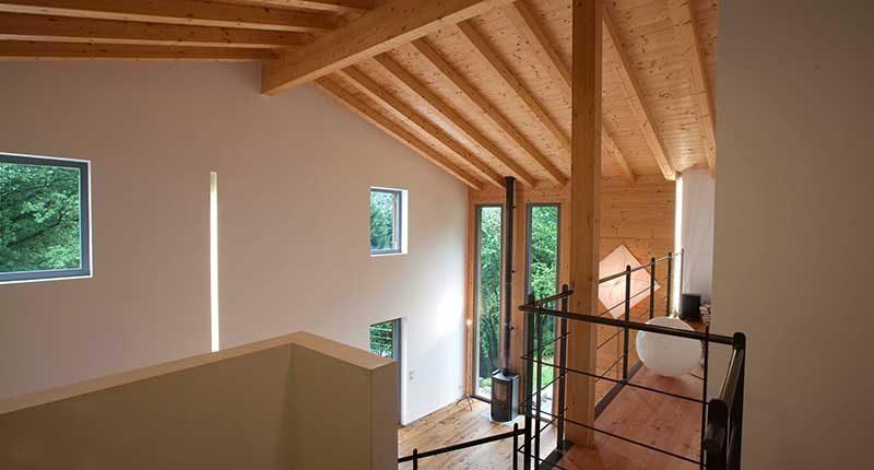 Perch scegliere un tetto in legno per la tua casa - Tetto in legno interno ...