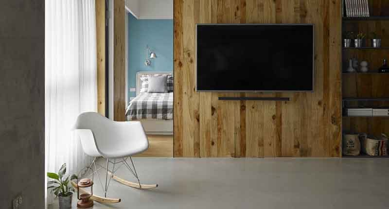 Pareti in legno per interni spunti e suggerimenti albertani abitare - Rivestire parete con legno ...