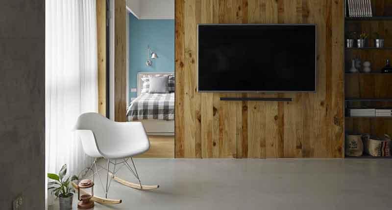 Pareti in legno per interni spunti e suggerimenti albertani abitare - Pareti divisorie in legno per interni ...