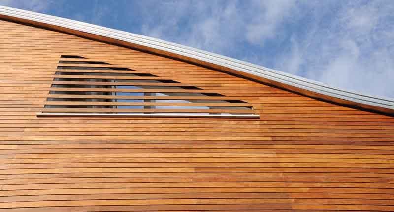 Pareti ventilate: come influiscono sull'efficienza di una casa in legno - Albertani // Abitare