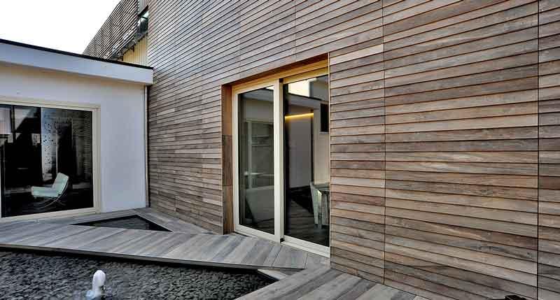 Pareti Rivestite Di Legno : Pareti ventilate come influiscono sull efficienza di una casa in