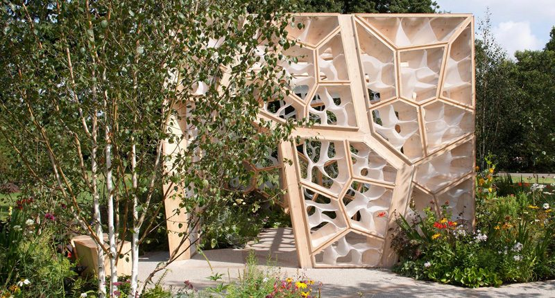Nex Architecture, Times Eureka Pavilion, Chelsea Flower Show, Regno Unito, 2012