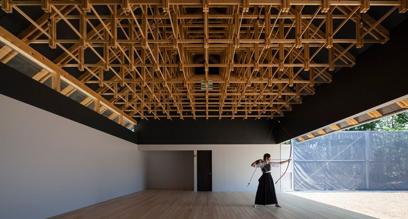FT Architects, Archery hall and boxing club, Tokyo, 2013