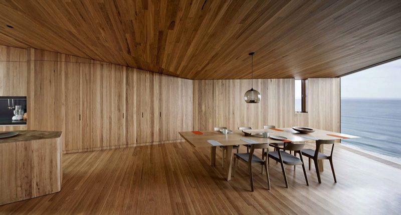 Abitazione rivestita in legno