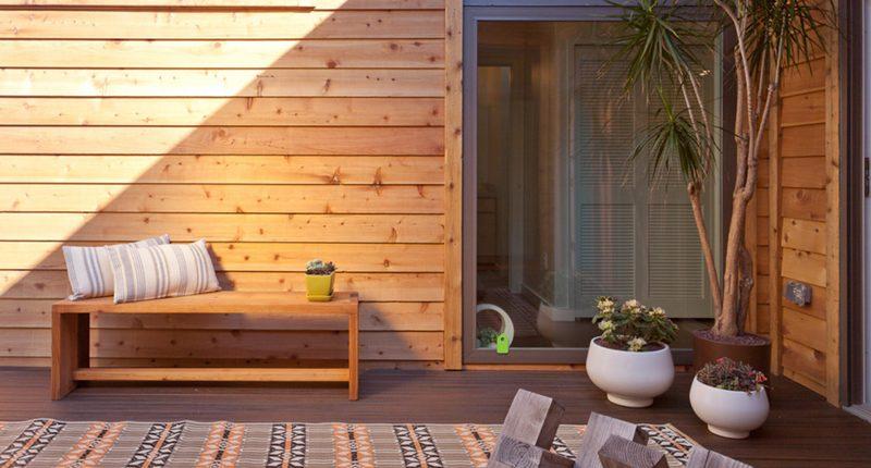 Abitazione in legno, idee per il rivestimento