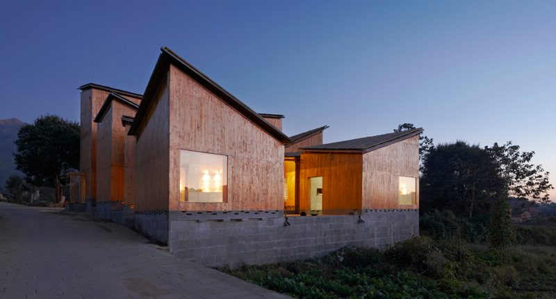 Trace Architecture Office, Museum of Handcraft Paper, Xinzhuang Village (Cina), 2010